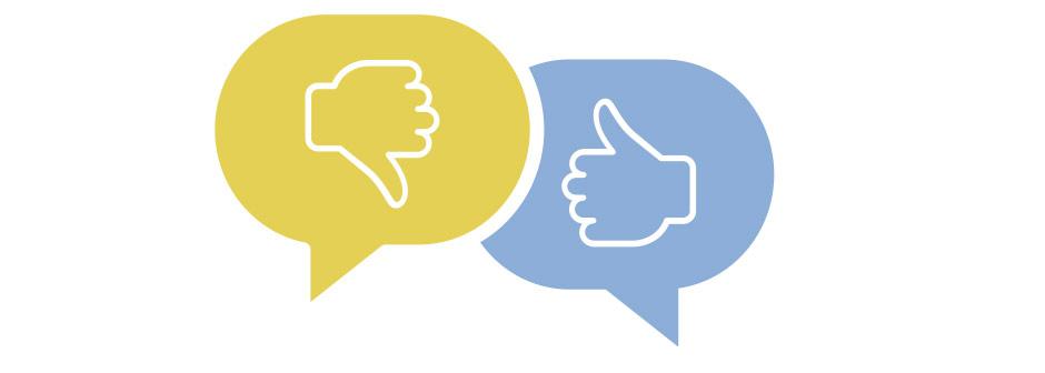 obrazek kciuk w górę i kciuk w dół do forum cialis